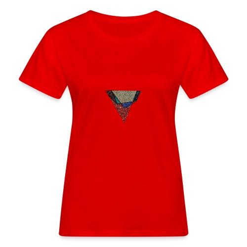 Flip Side Graphite Logo - Women's Organic T-Shirt