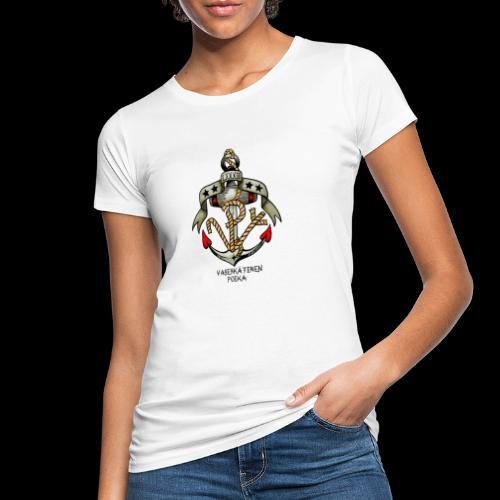 VP Ankkuri Väreillä - Naisten luonnonmukainen t-paita