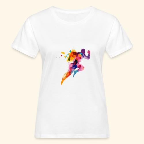 Running colores - Camiseta ecológica mujer