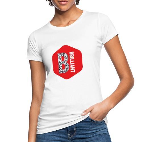 B brilliant red - Vrouwen Bio-T-shirt
