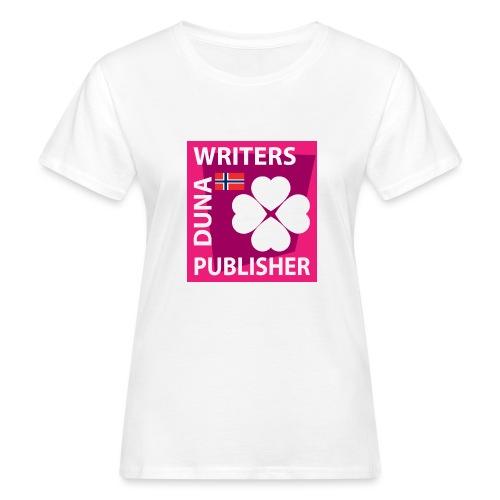Duna Writers Publisher Pink - Økologisk T-skjorte for kvinner