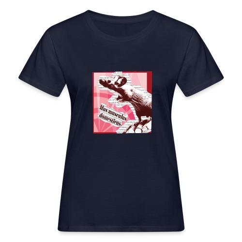 Mus musculus - punainen - Naisten luonnonmukainen t-paita
