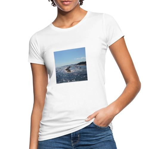 Mer avec roches - T-shirt bio Femme