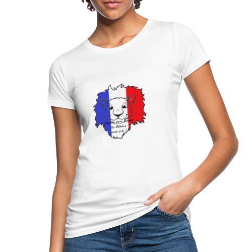 Lion supporter France - T-shirt bio Femme