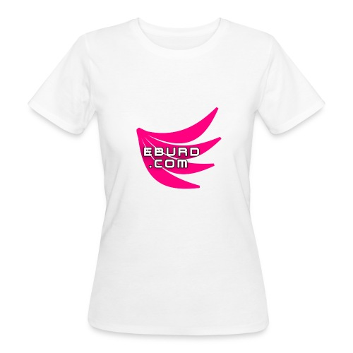 EBURD LOGO GROSS - Frauen Bio-T-Shirt