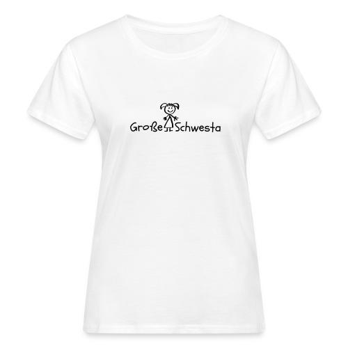Vorschau: Grosse Schwesta - Frauen Bio-T-Shirt