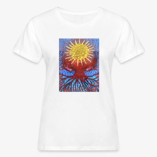 Niebiańskie Drzewo - Ekologiczna koszulka damska