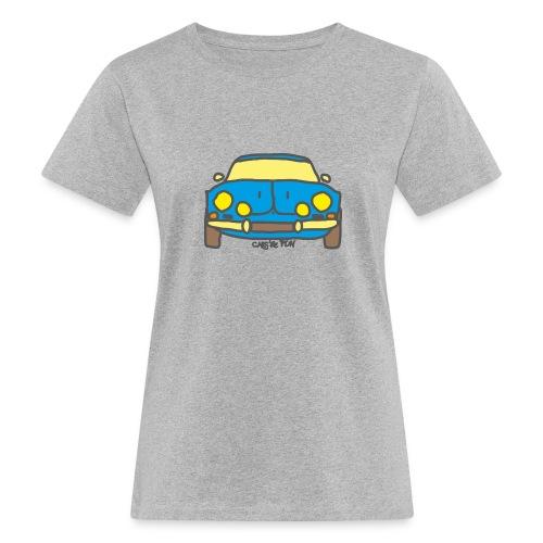 Voiture ancienne mythique française - T-shirt bio Femme