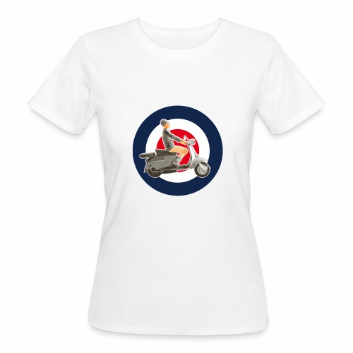 Scooter girl - T-shirt bio Femme