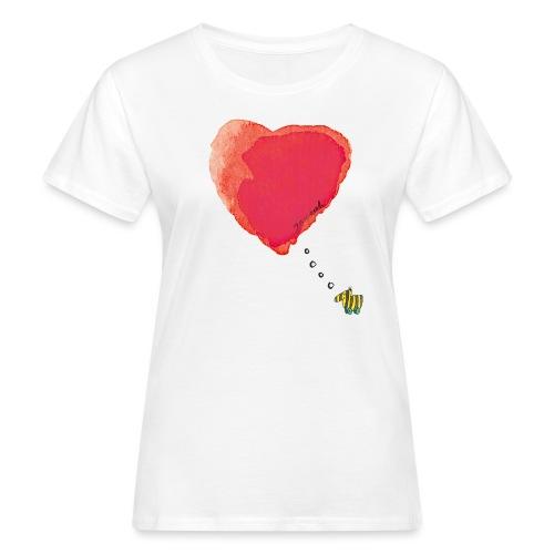 Janoschs Tigerente hat nur Liebe im Sinn MP - Frauen Bio-T-Shirt