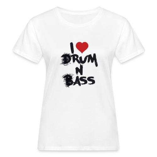 I <3 Rum N Ass - T-shirt bio Femme