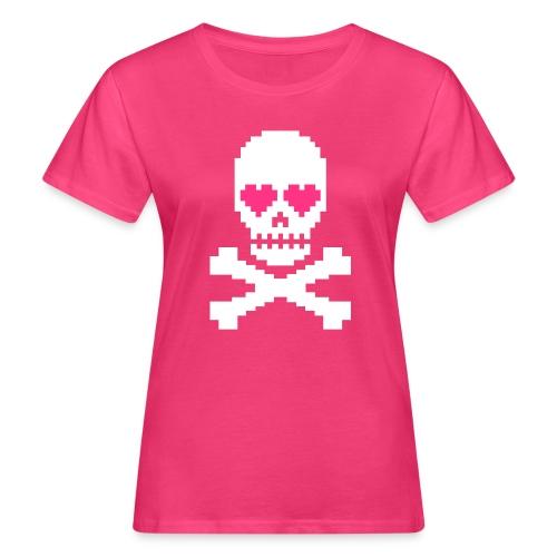 Skull Love - Vrouwen Bio-T-shirt