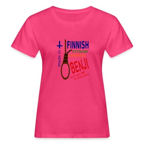 FINNISH-BENJI - Women's Organic T-Shirt