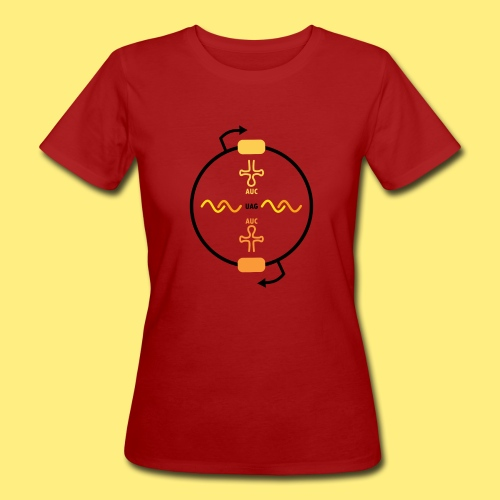 Biocontainment tRNA - shirt men - Vrouwen Bio-T-shirt