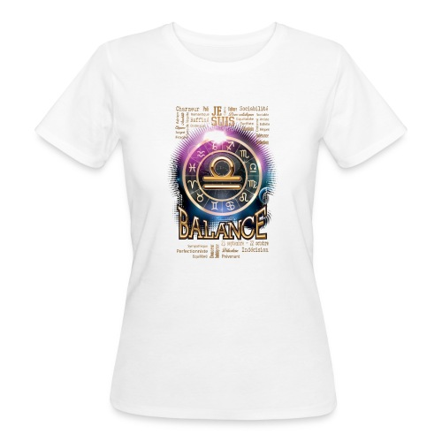 BALANCE - T-shirt bio Femme