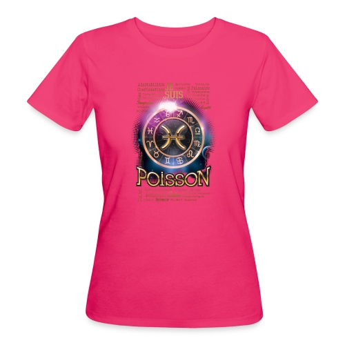 POISSONS - T-shirt bio Femme