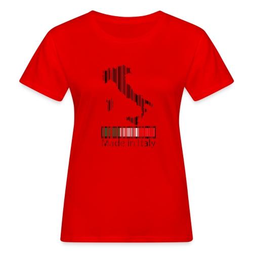 Made in Italy - T-shirt ecologica da donna
