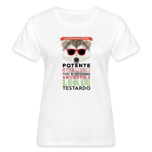 04_ALASKAN_MALAMUTE - T-shirt ecologica da donna