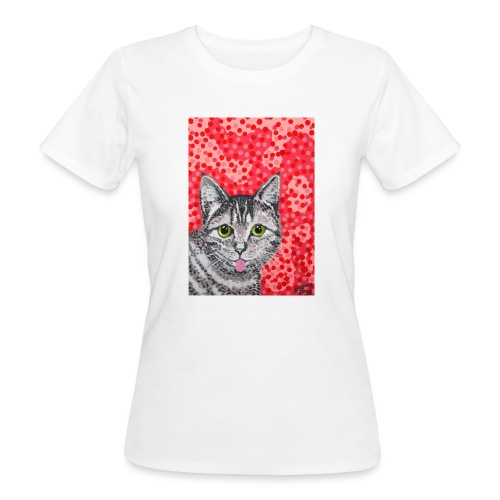 The Finnish Cat - Naisten luonnonmukainen t-paita