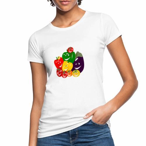 Veggie Family - Cheese! - Women's Organic T-Shirt