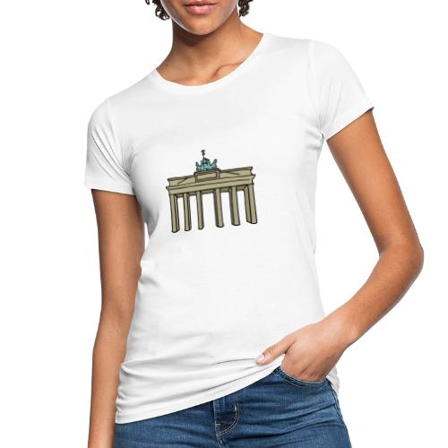 Brama Brandenburska BERLIN c - Ekologiczna koszulka damska