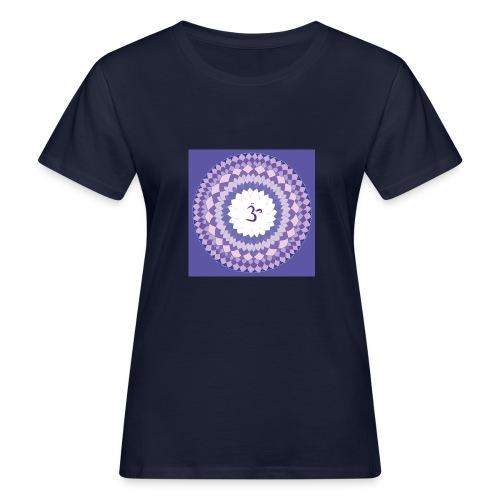 Sahasrara - Crown Chakra - Naisten luonnonmukainen t-paita