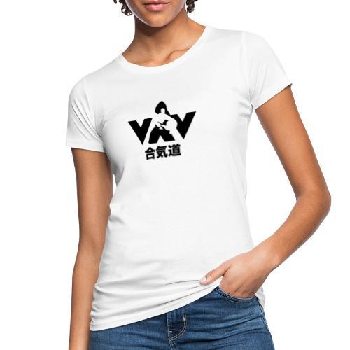 aikido zwart - Vrouwen Bio-T-shirt