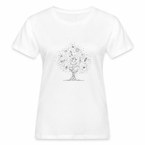Interpretacja woodspace - Ekologiczna koszulka damska