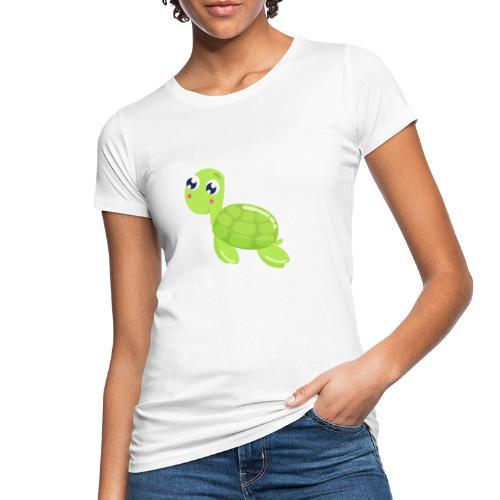schildkroete - Frauen Bio-T-Shirt