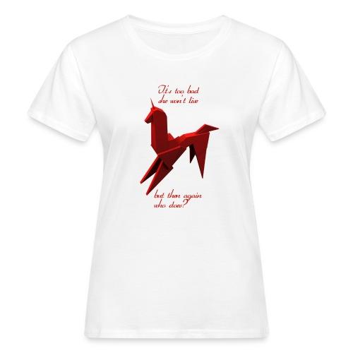 UnicornioBR2 - Camiseta ecológica mujer