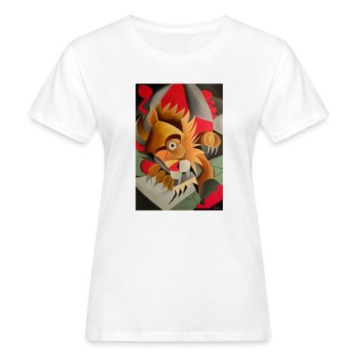 leone - T-shirt ecologica da donna