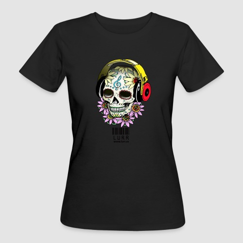smiling_skull - Women's Organic T-Shirt