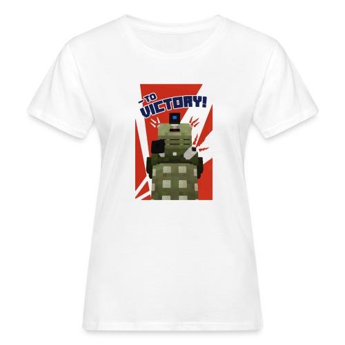Dalek Mod - To Victory - Women's Organic T-Shirt