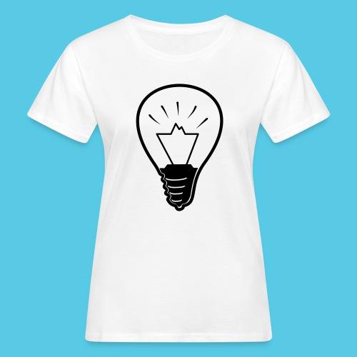 glühende Berge - Frauen Bio-T-Shirt