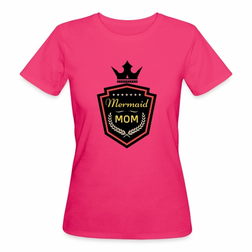 Mermaid Mom - AMDesign - Frauen Bio-T-Shirt