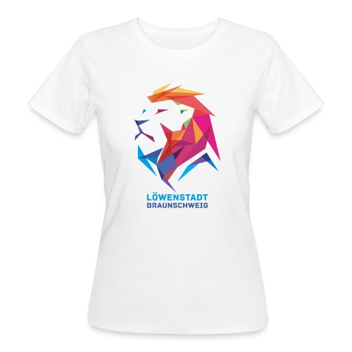 Löwenstadt Design 7 - Frauen Bio-T-Shirt