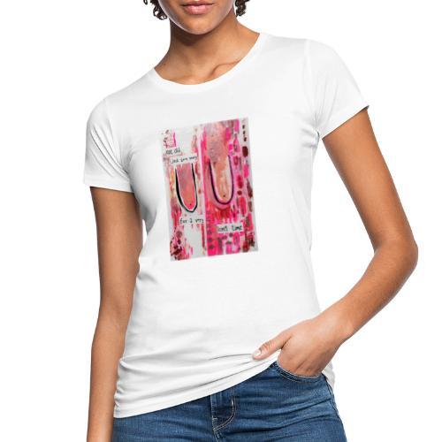 BOOBS print white - Økologisk T-skjorte for kvinner