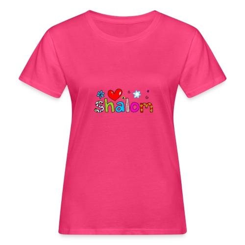 Shalom II - Frauen Bio-T-Shirt