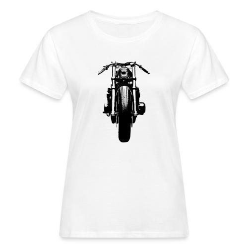 Motorcycle Front - Women's Organic T-Shirt