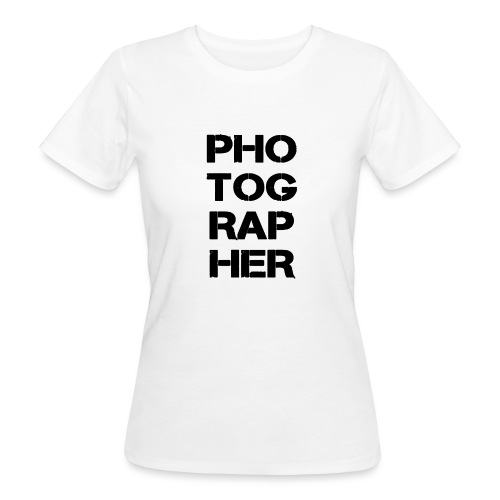PHOTOGRAPHER - T-shirt bio Femme