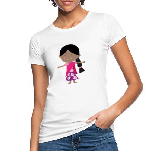 Happy Meitlis - Indien - Frauen Bio-T-Shirt