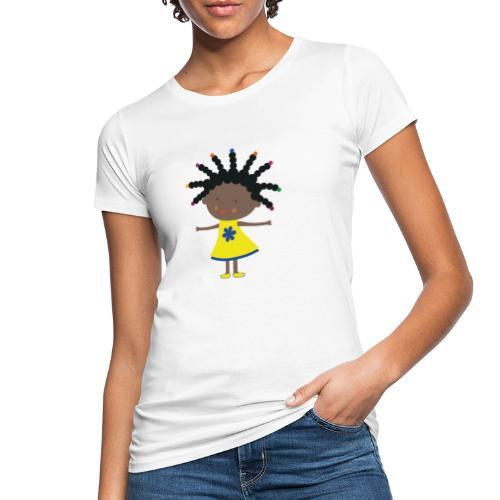 Happy Meitlis - Afrika - Frauen Bio-T-Shirt