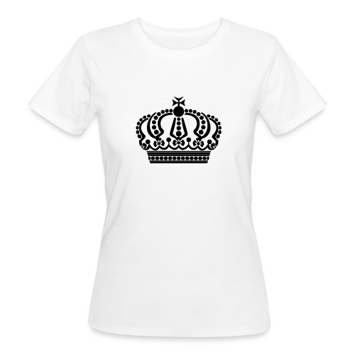 kroon keep calm - Vrouwen Bio-T-shirt