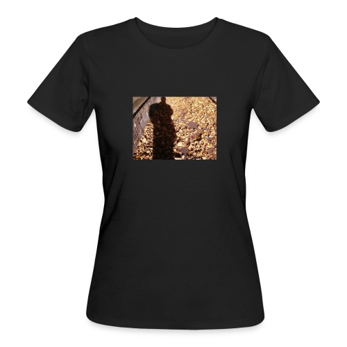 THE GREEN MAN IS MADE OF AUTUMN LEAVES - Women's Organic T-Shirt