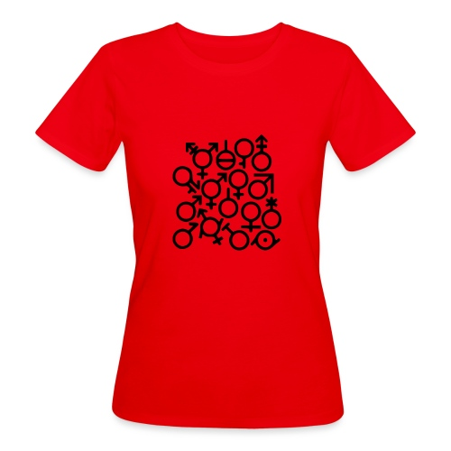 Multi Gender B/W - Vrouwen Bio-T-shirt