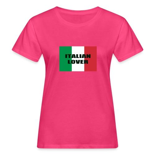 ITALIAN LOVER - T-shirt ecologica da donna