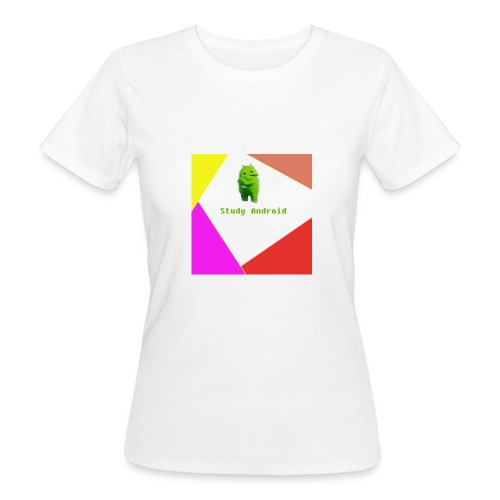 Study Android - Camiseta ecológica mujer