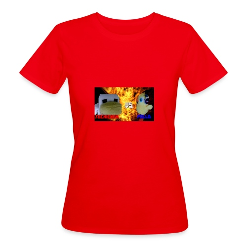 TGCHICKEN VS POLLO - T-shirt ecologica da donna