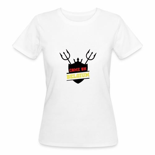 Come On Belgium - T-shirt bio Femme
