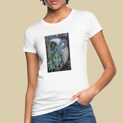 ixchel azul - Camiseta ecológica mujer